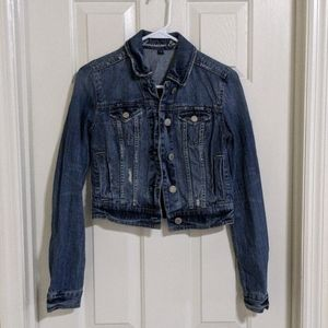 AE Cropped Denim Jacket XS